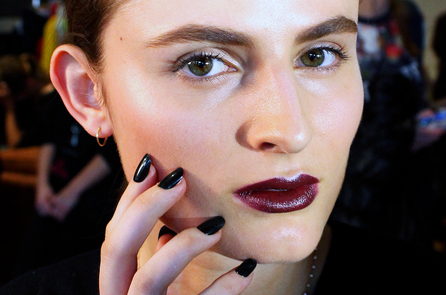 Dark Lips Trend Fall 2014