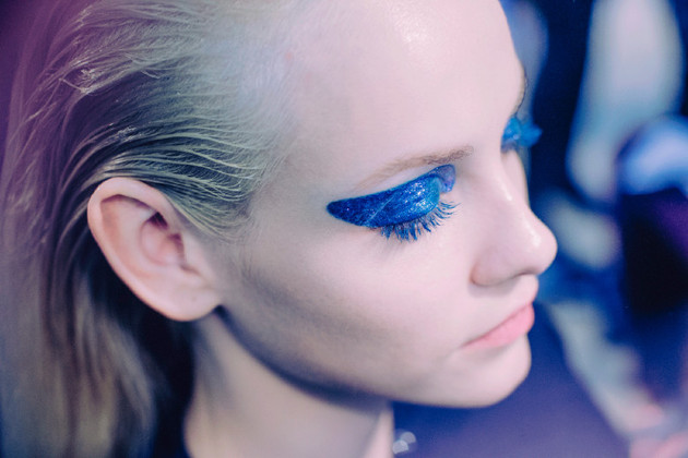 Fall 2014 Makeup Blue Eyeshadow