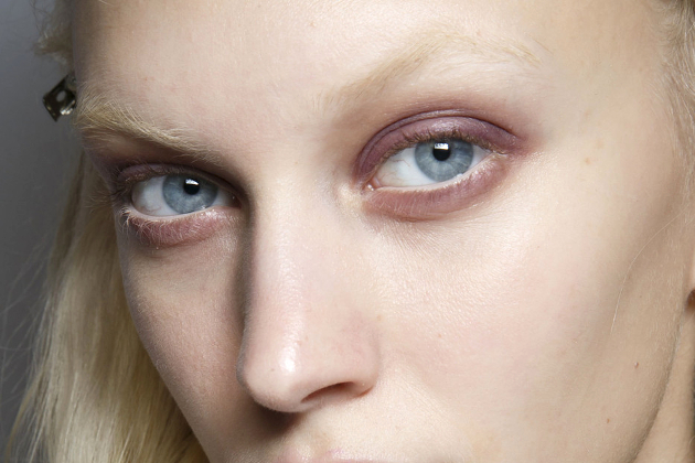 Lilac Color Eye Makeup Fall 2014