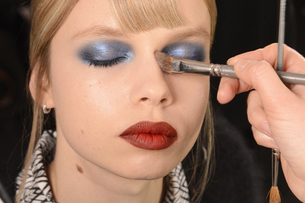 Silver Eyeshadow Fall 2014