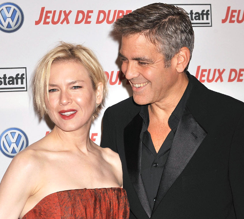 George Clooney And Renee Zellweger