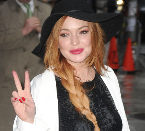 Joan Rivers Feud With Lindsay Lohan