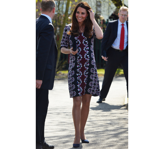 Kate Middleton Maternity Erdem Dress