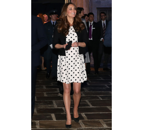 Kate Middleton Maternity Topshop Dress