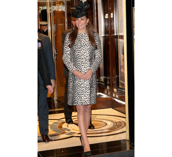 Kate Middleton Maternity Dalmatian Coat