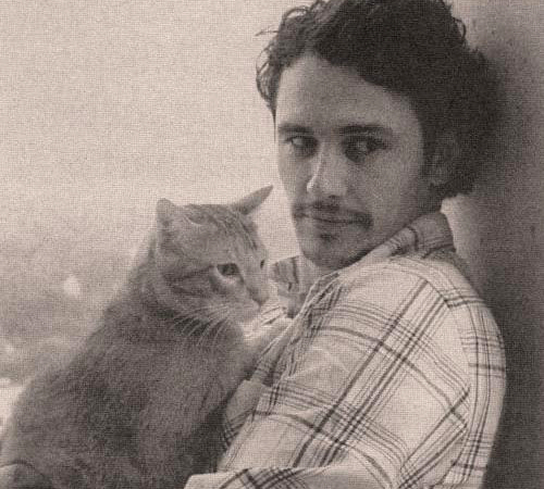 James Franco Cat Lover