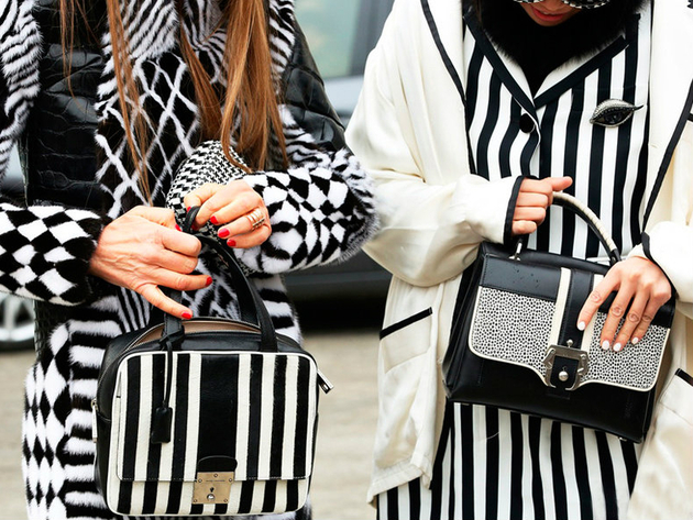 Matchy Matchy Black And White Stripes