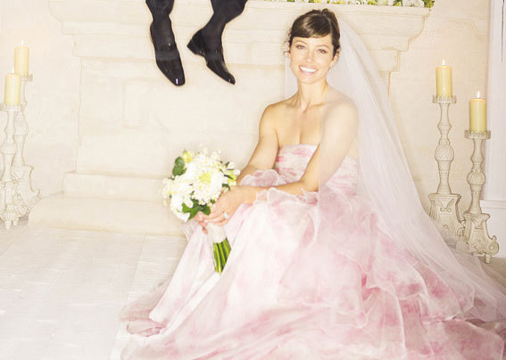 Jessica Biel Wedding Dress