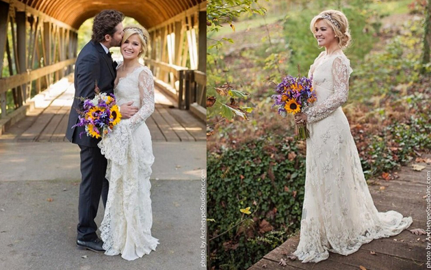 Kelly Clarkson Wedding Dress