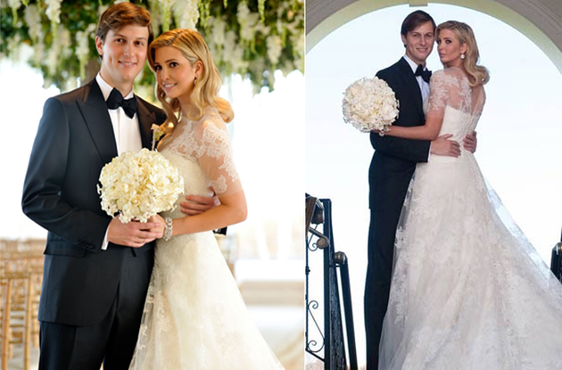 Ivanka Trump Wedding Dress