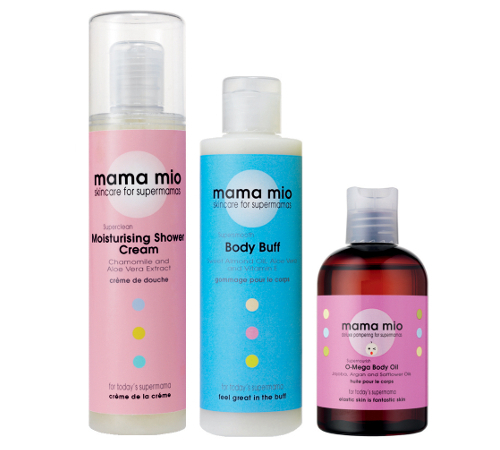 Mama Mio Pregnancy Friendly Skin Care Lines