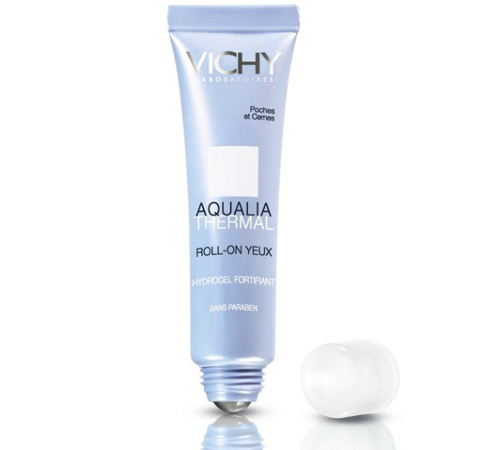 Vichy Aqualia Thermal Eye Roll On Fortifying De Puffing Gel