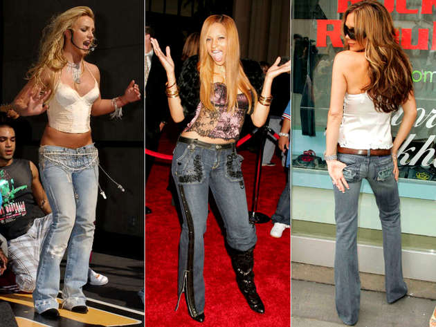 Low Rise Jeans Trend In 2004