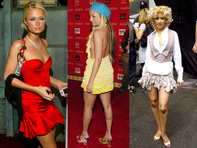 Ruffled Mini Skirts Trends In 2004