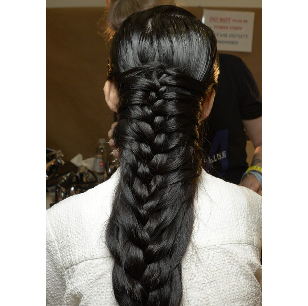 Braided Hairstyle Suno Spring 2015