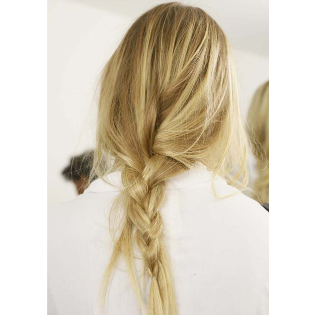Loose Braid Michale Kors Spring 2015