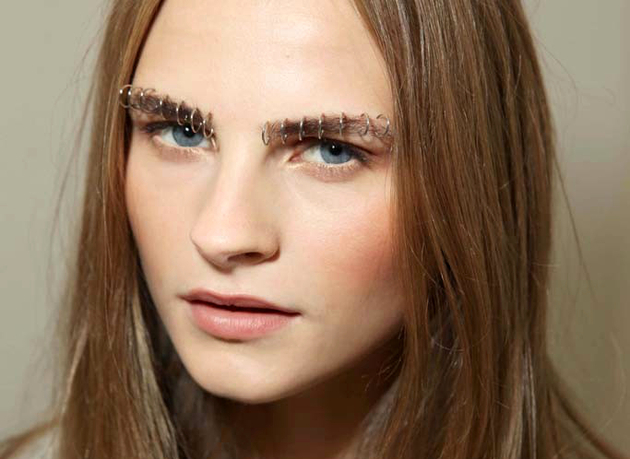 Rodarte Pierced Eyebrows Spring 2015