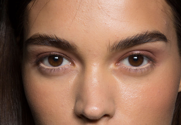 Thick Eyebrows Bcbg Max Azria Spring 2015