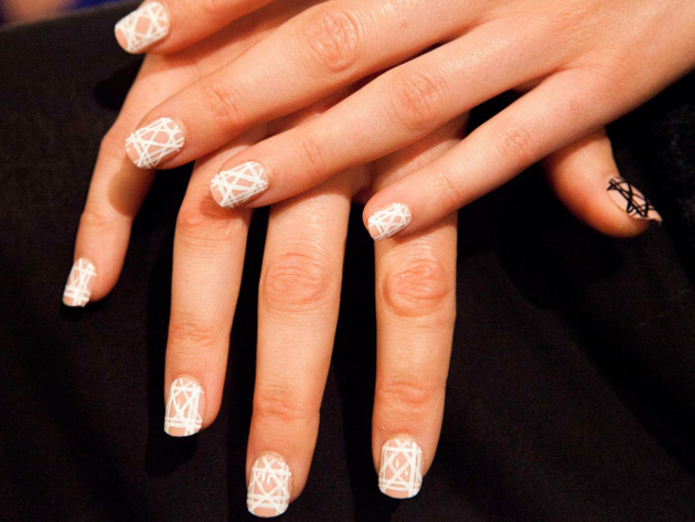 Angel Sanchez Spring 2015 Nail Trends