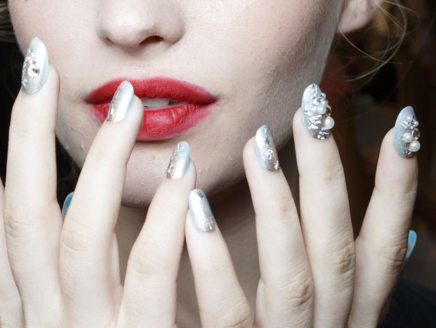 Betsey Johnson Spring 2015 Nail Trends