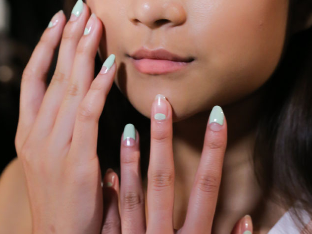 Charlotte Ronson Spring 2015 Nail Trends