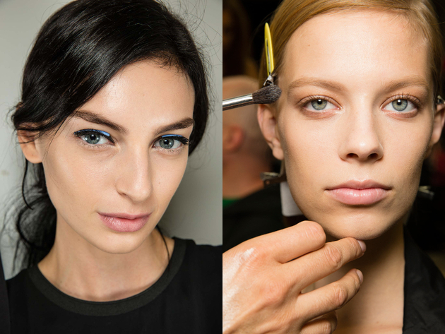 Neutral Lips Spring 2015 Trends Milan Fashion Week