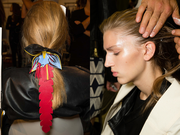 Textured Hair Spring 2015 Trends Milan Fashion Week