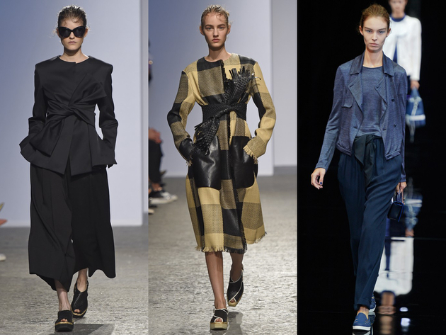 Tied Belts Spring 2015 Trends Milan