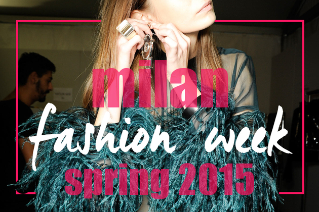 Spring 2015 Trends from Milan Fashion Week
