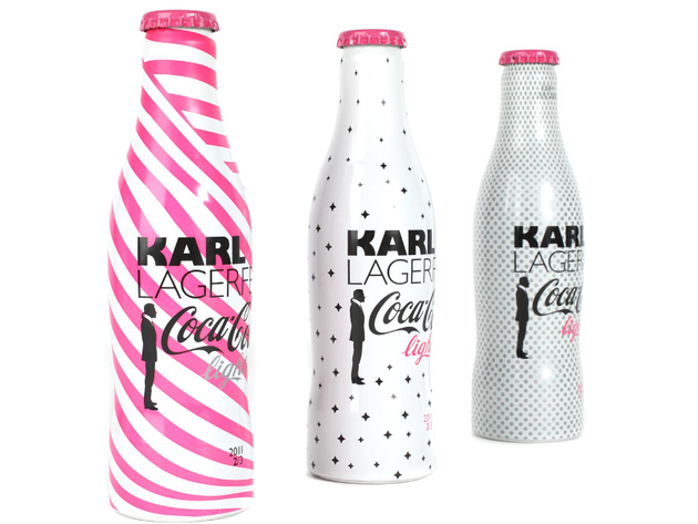 Karl Lagerfeld Designing For Coca Cola