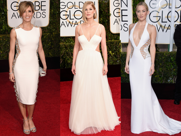Golden Globes 2015 Cutout Dresses