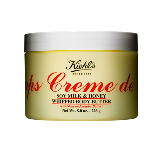Kiehl'S Creme De Corps Soy Milk   Honey Whipped Body Butter