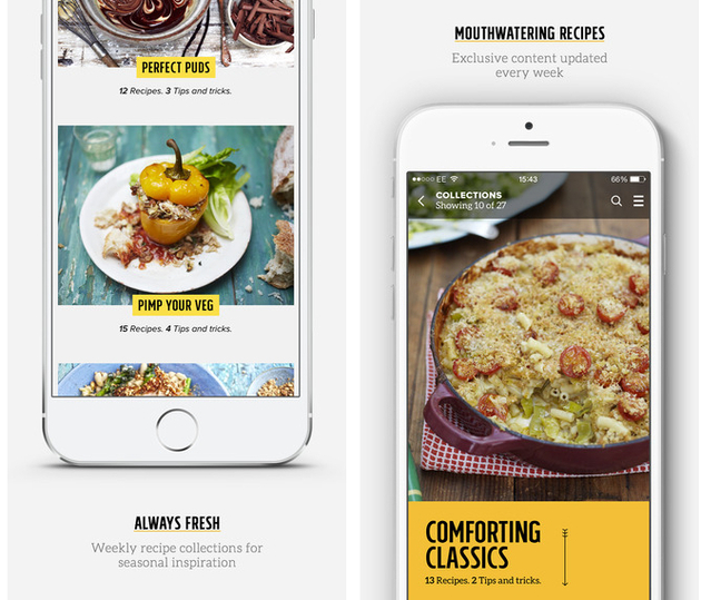 Jamie Oliver Recipes App