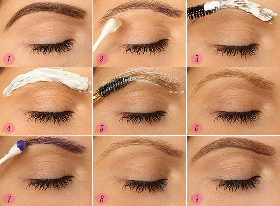 How To Bleach Your Eyebrows