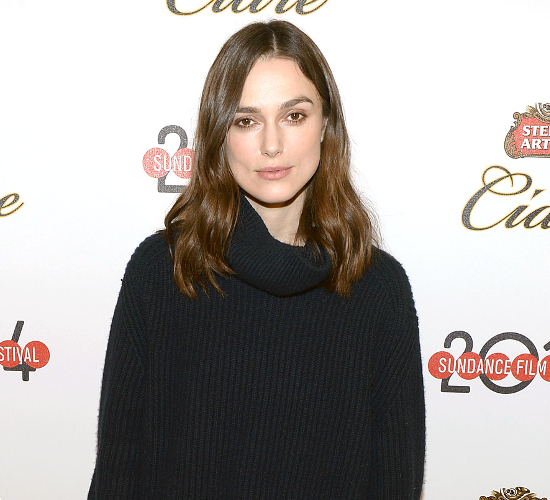 Keira Knightley Avoids Social Media