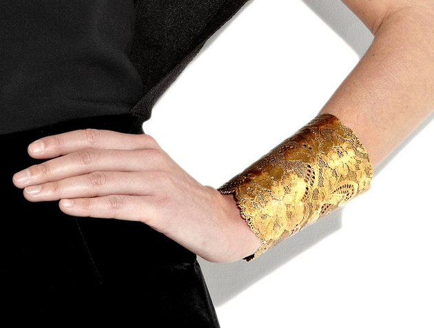 Metallic Cuff 2015 Trends