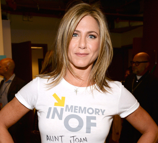 Jennifer Aniston Dyslexia