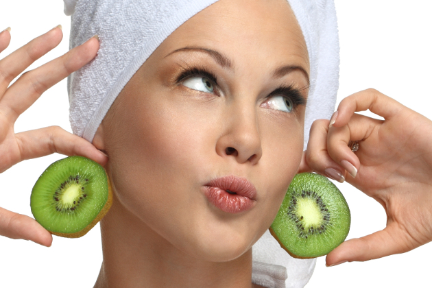 Exfoliating Skin With Kiwi Fruit