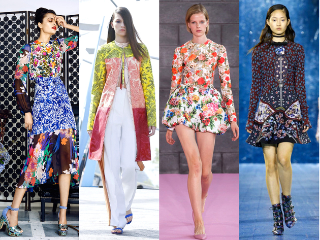 Print Blocking Trends Spring Summer 2016