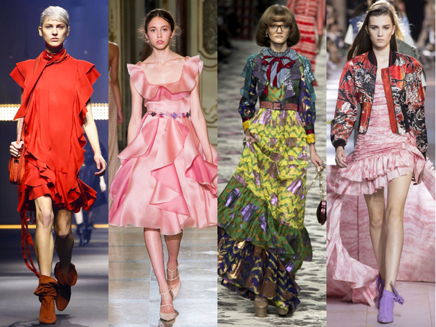 Ruffle Trends Spring Summer 2016