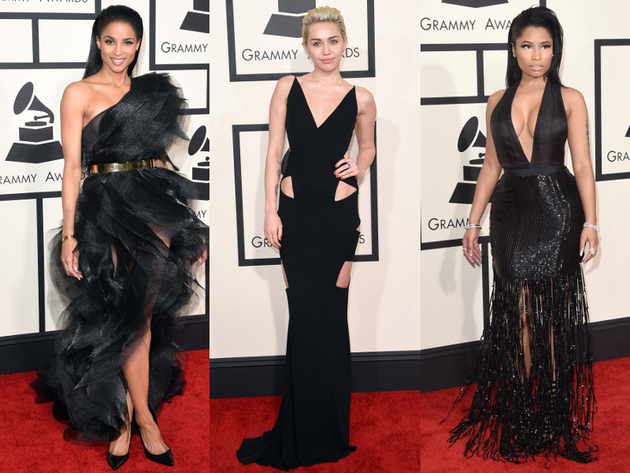Black Dresses Grammys 2015