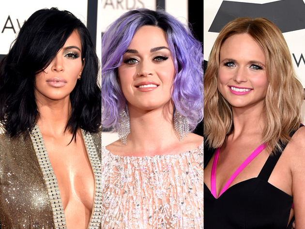 Long Bob Hairstyles Grammys 2015
