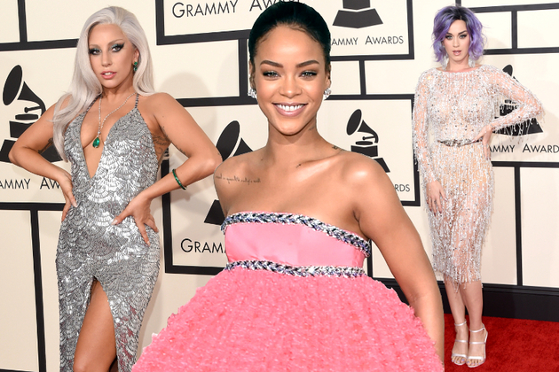 10 Grammy Awards 2015 Red Carpet Trends