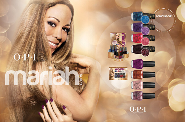 Mariah Carey For Opi Nail Polishes