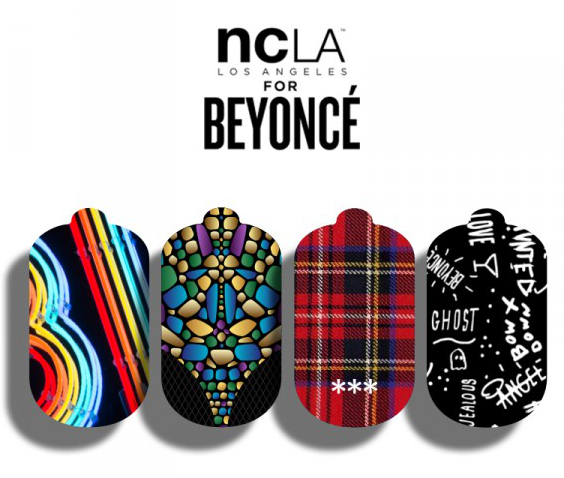 Ncla For BeyoncÉ Nail Wrap Collection