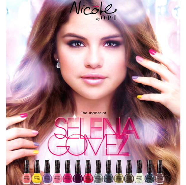 Selena Gomez Nicole By Opi Nail Polishes