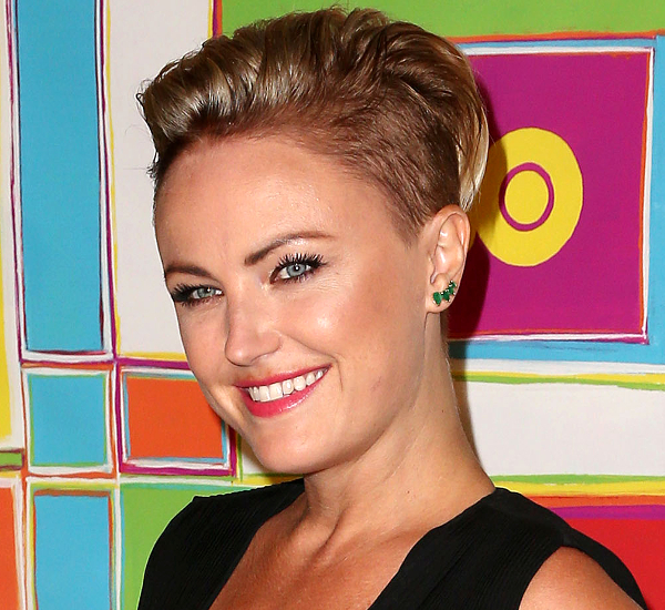 Malin Akerman Undercut Hairstyle
