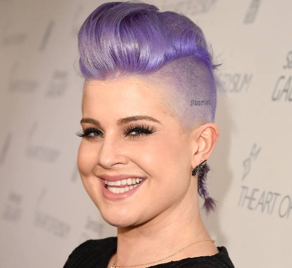 Kelly Osbourne Undercut Hairstyle