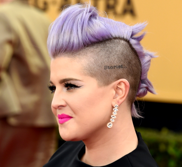 Kelly Osbourne Undercut Side View