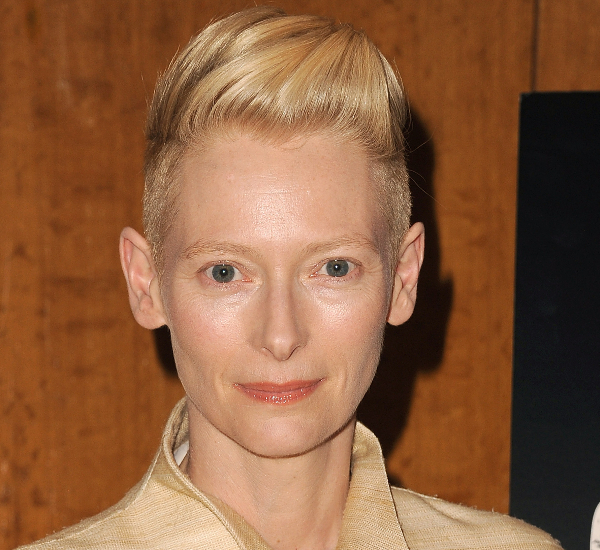 Tilda Swinton Undercut Hair